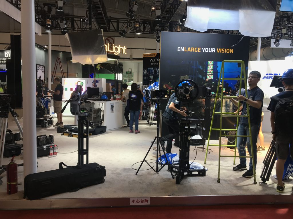 Show Setup, Atlas 7 Heads and Bazooka System