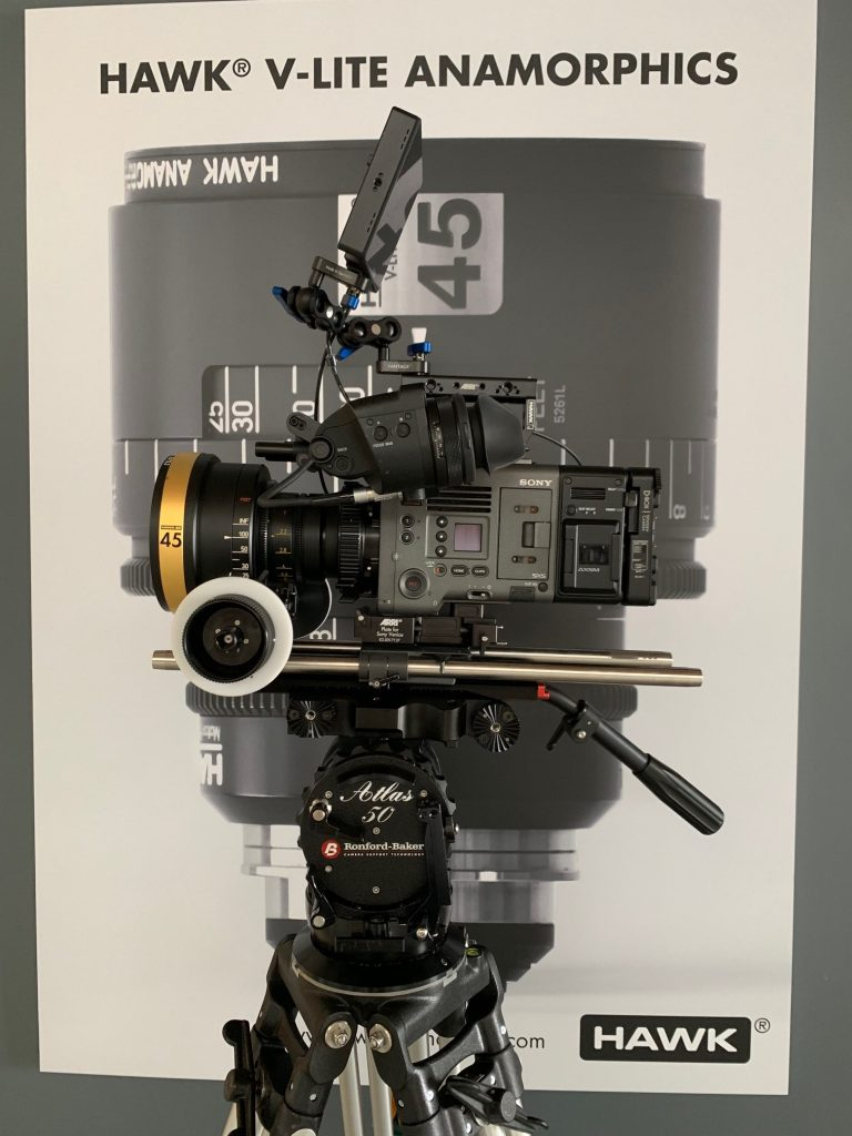 New Atlas 50S Fluid Heads at Hawk Anamorphic LA