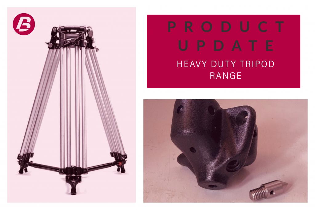 Product Update - Heavy Duty Tripod Range