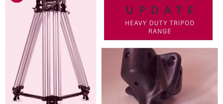 Product Update – Ronford Baker Heavy Duty Tripod Range